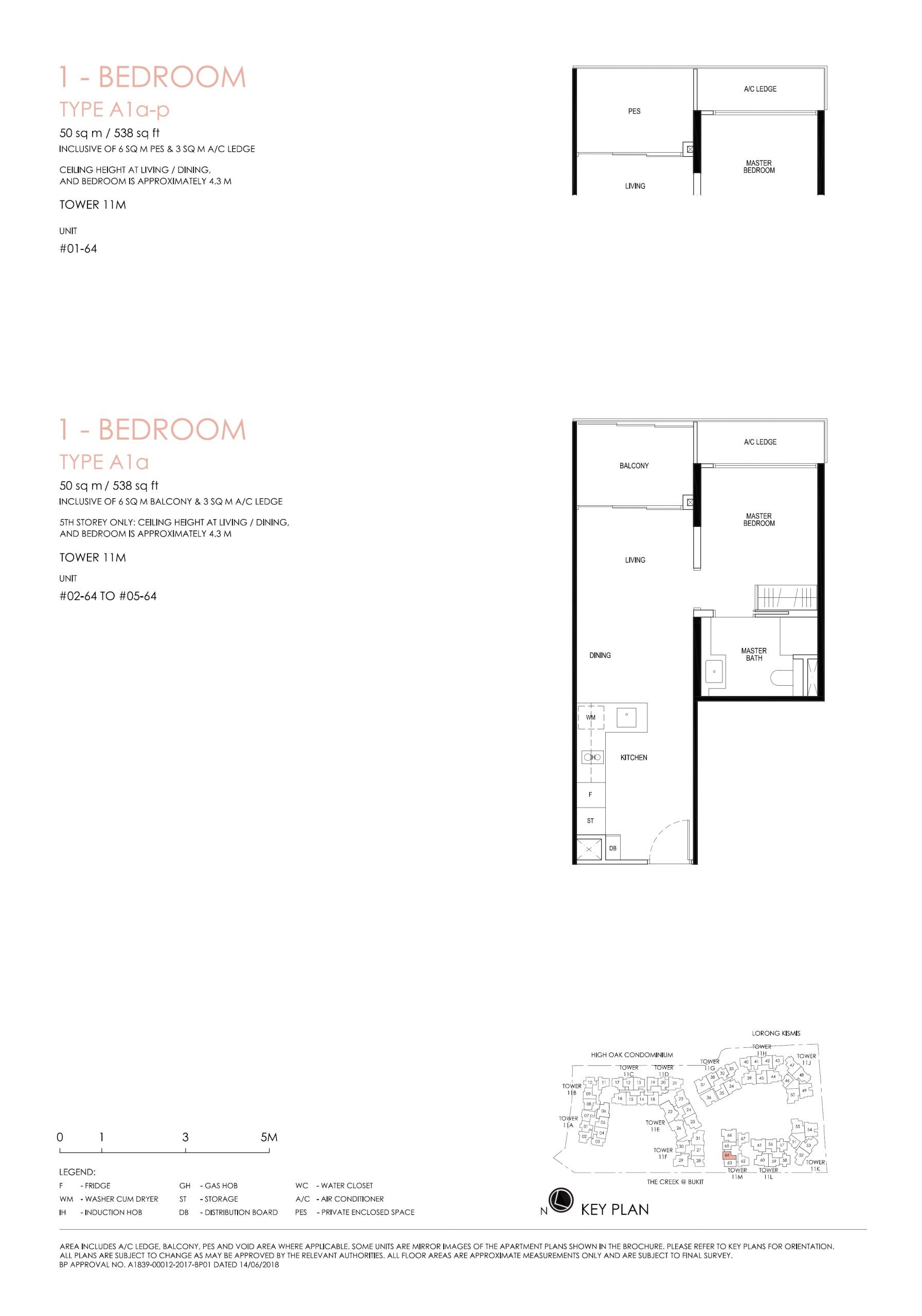 1 Bedroom - Type A1a
